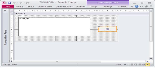 access form design zoom Custom Zoom Box to edit and display data using Microsoft Access VBA